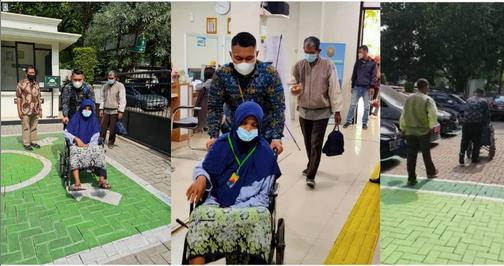 Pengadilan Agama Tangerang Memberikan Layanan Terbaik Kepada Pihak Disabilitas Sehingga Dilayani Secara Prioritas Dimulai Drai Gerbang Utama Hingga Selesai Mendapatkan Bantuan Pembuatan Surat Gugatan